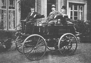 Thomas Parker's Electric Car in 1895
